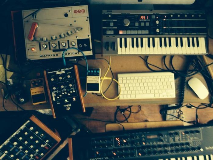 Rival Consoles - studio shot