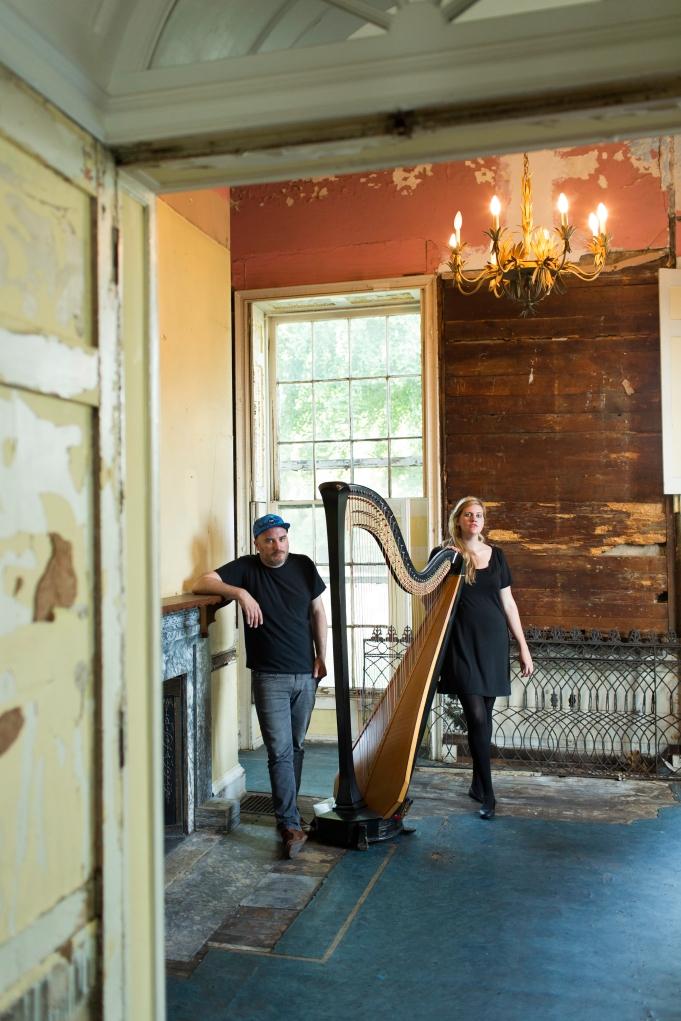 Mary Lattimore and Jeff Zeigler Press Photos 2014