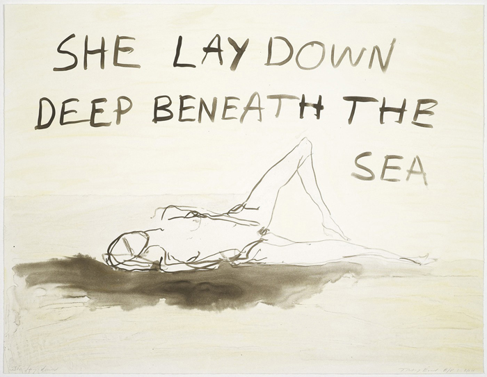 tracey-emin-she-lay-down-2011-etching